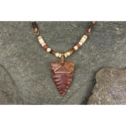Pendant with flint arrowhead PA1705