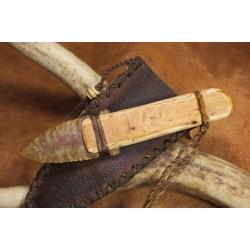 Couteau à lame en silex de style Ötzi C1604